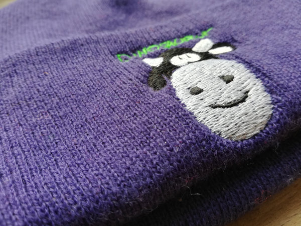 Cow - knit hat