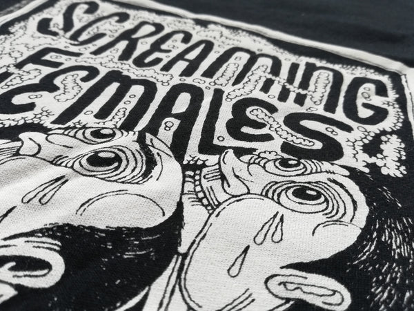 Screaming Females Ugly T-Shirt- Bingo Merch Official Merchandise Shop Official