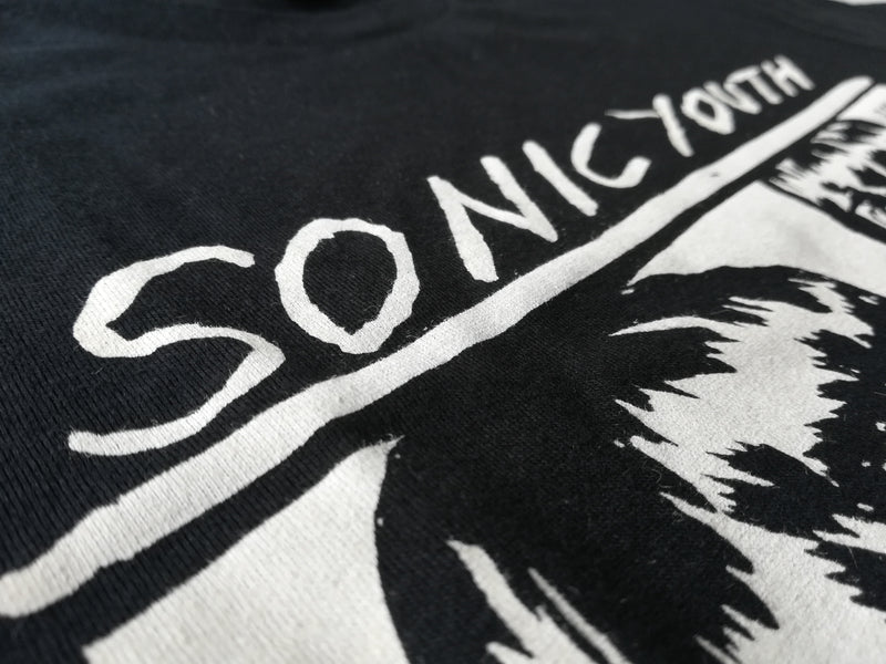 Sonic Youth Black Goo T-Shirt- Bingo Merch Official Merchandise Shop Official