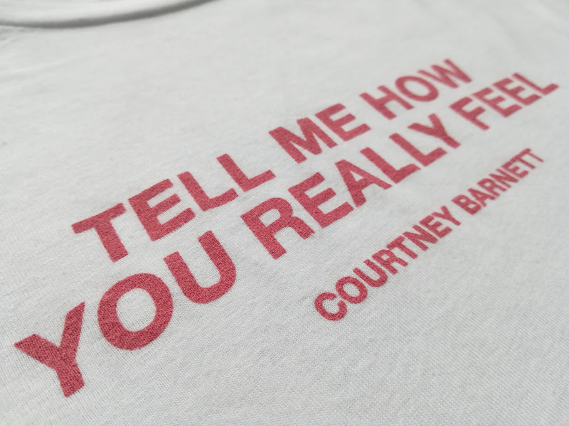 Courtney Barnett Tell Me How You Really Feel T-Shirt- Bingo Merch Official Merchandise Shop Official