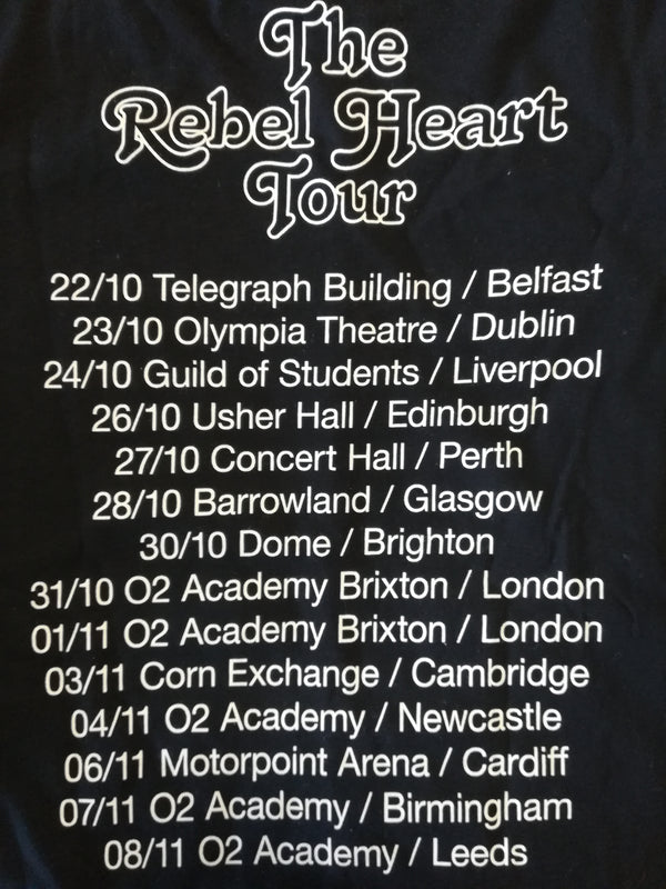 First Aid Kit Rebel Hearts Tour T shirt- Bingo Merch Official Merchandise Shop Official