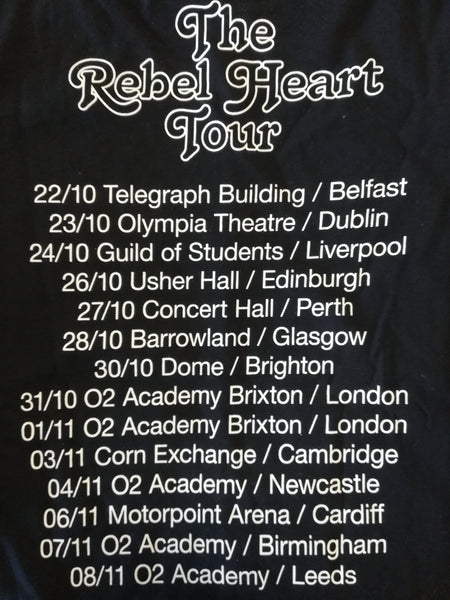 Rebel Hearts Tour