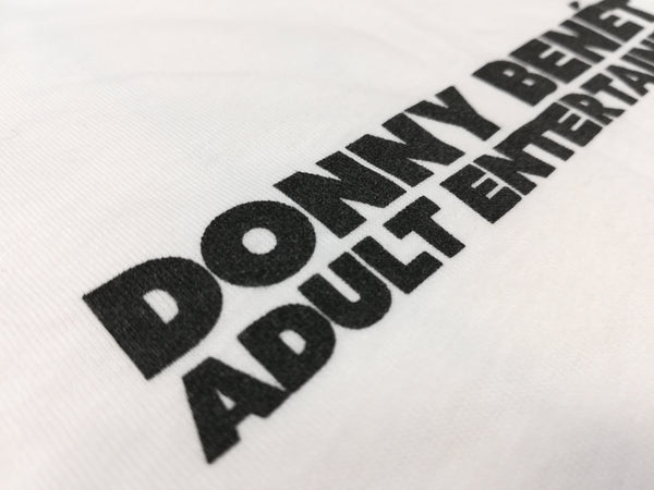 Donny Benét Adult Entertainer T-Shirt- Bingo Merch Official Merchandise Shop Official