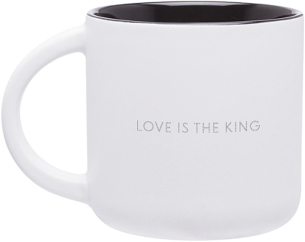 Love Is The King Mug