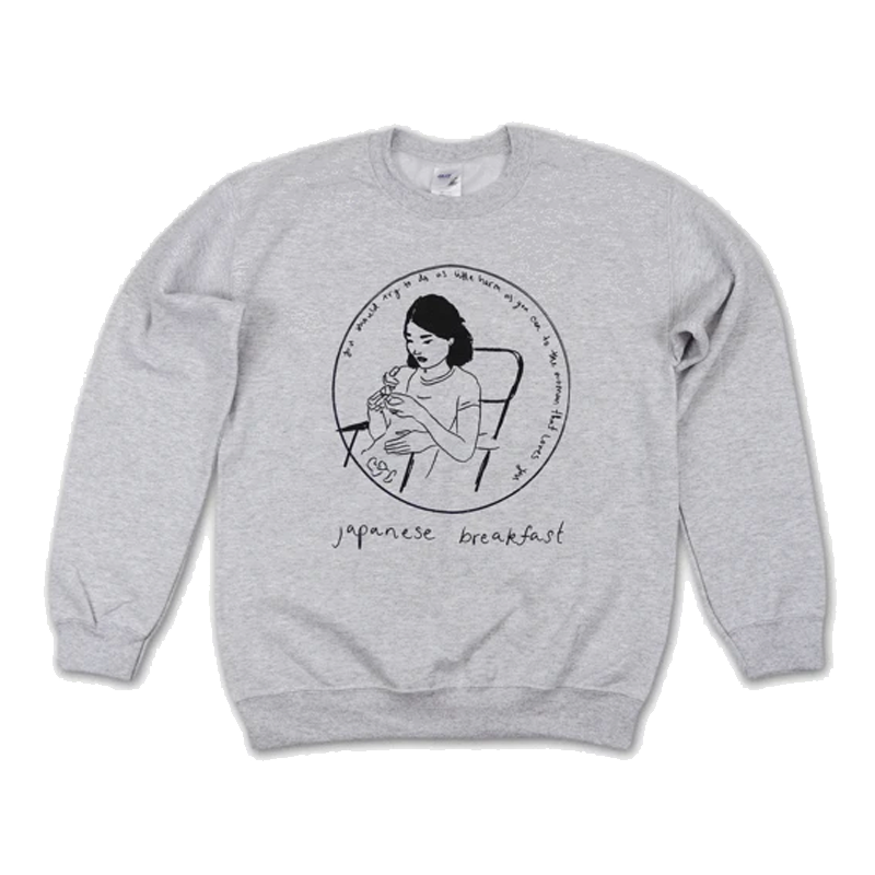 Japanese Breakfast The Woman That Loves You Sweatshirt Sweatshirt- Bingo Merch Official Merchandise Shop Official