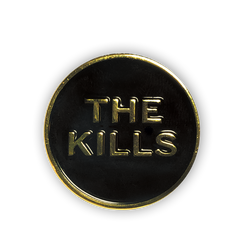 The Kills Logo Enamel Pin
