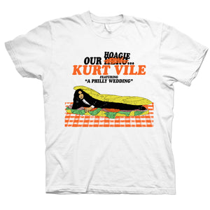 Kurt Vile Our Hoagie design on white Tshirt from Bingo Merch