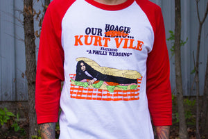 Kurt Vile Our Hoagie design on Baseball Shirt from Bingo Merch
