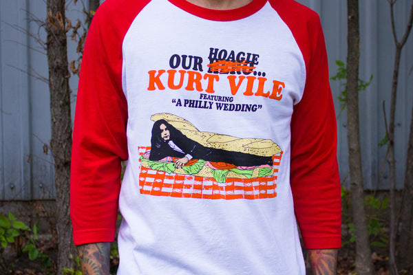 Kurt Vile Our Hoagie Baseball Longsleeve- Bingo Merch Official Merchandise Shop Official