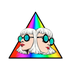 Lucius Prism Sticker Sticker- Bingo Merch Official Merchandise Shop Official