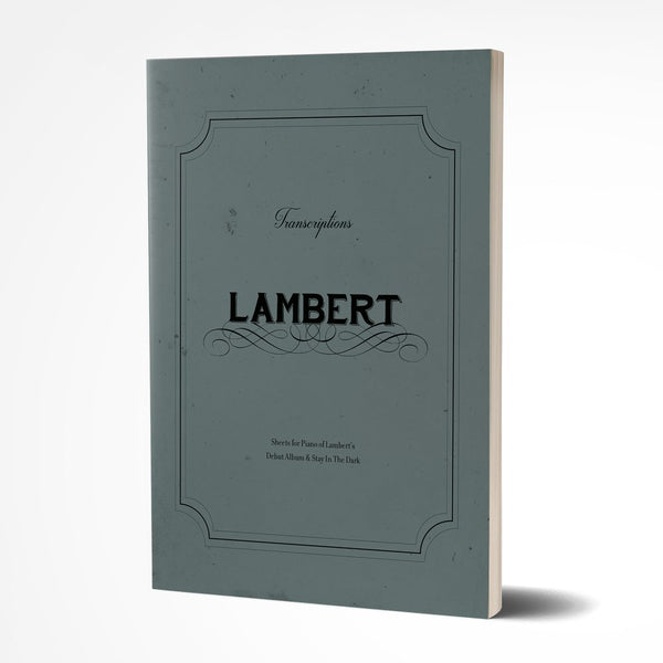Lambert Transcriptions Sheet Book Book- Bingo Merch Official Merchandise Shop Official
