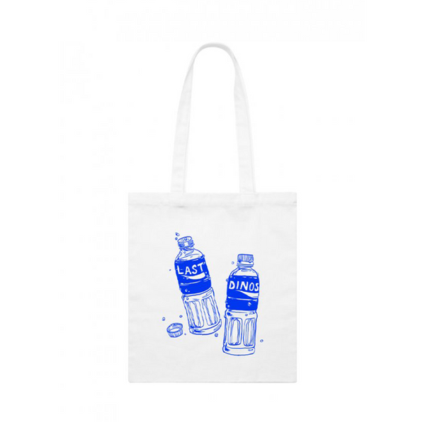 Last Dinosaurs Pocari Sweat Totebag - Bingo Merch Official Merchandise Shop Official
