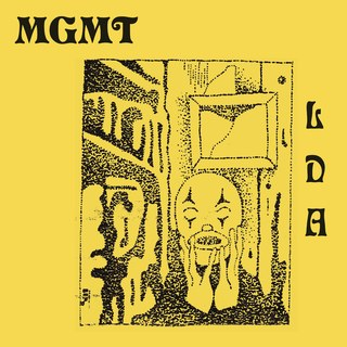 MGMT Little Dark Age LP LP- Bingo Merch Official Merchandise Shop Official