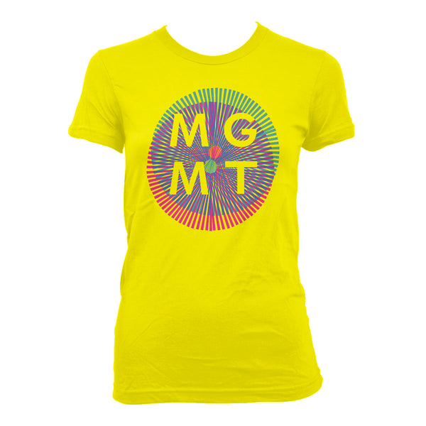 MGMT Op Art - girls T-Shirt- Bingo Merch Official Merchandise Shop Official