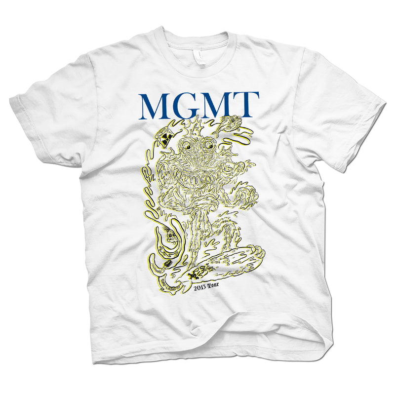 MGMT Surf T-Shirt- Bingo Merch Official Merchandise Shop Official