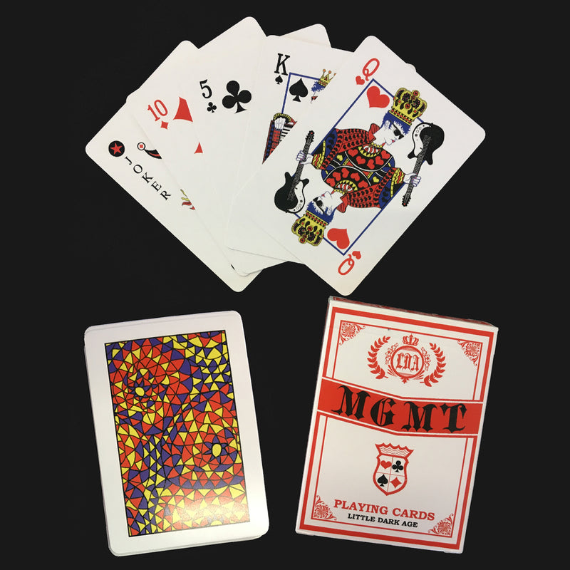 MGMT Little Dark Age Playing Cards Other- Bingo Merch Official Merchandise Shop Official