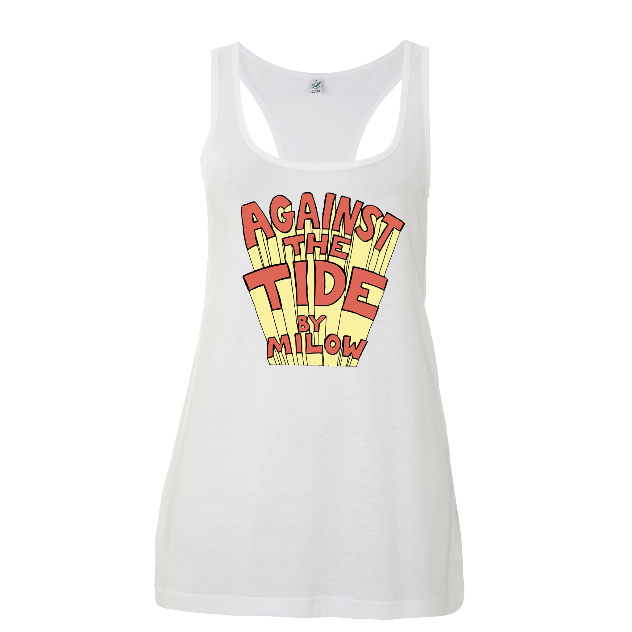 Tide - girls tanktop white