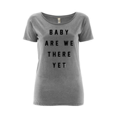Baby Are We There Yet - girls grey