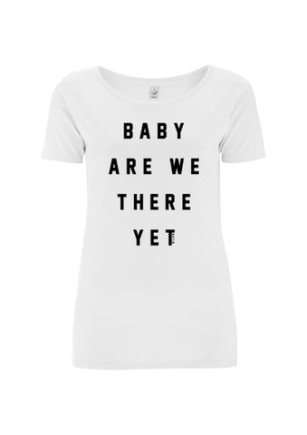 Baby Are We There Yet - girls white