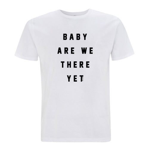 Milow Baby Are We There Yet white T-Shirt- Bingo Merch Official Merchandise Shop Official