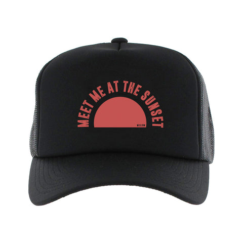 Sunset - trucker cap