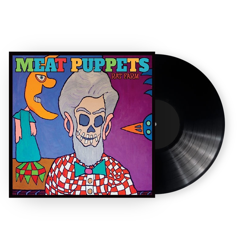 Meat Puppets Rat Farm LP LP- Bingo Merch Official Merchandise Shop Official