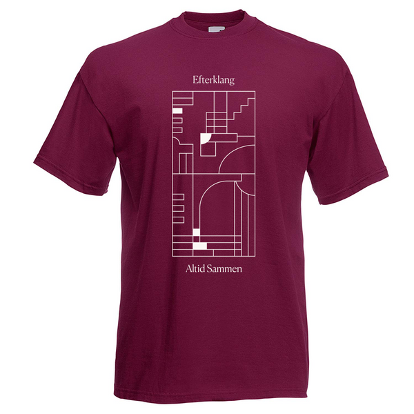 Efterklang Altid Sammen Burgundy T-Shirt- Bingo Merch Official Merchandise Shop Official