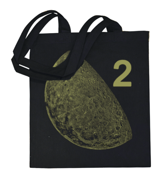 Moon Duo Moon 2 Metallic Gold Totebag Totebag- Bingo Merch Official Merchandise Shop Official