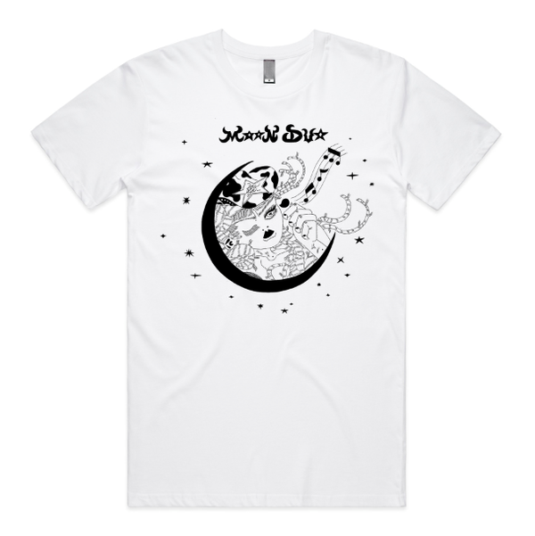 Moon Duo Moon Lady T-Shirt- Bingo Merch Official Merchandise Shop Official
