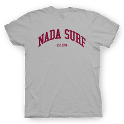 Nada Surf College Grey T-Shirt- Bingo Merch Official Merchandise Shop Official