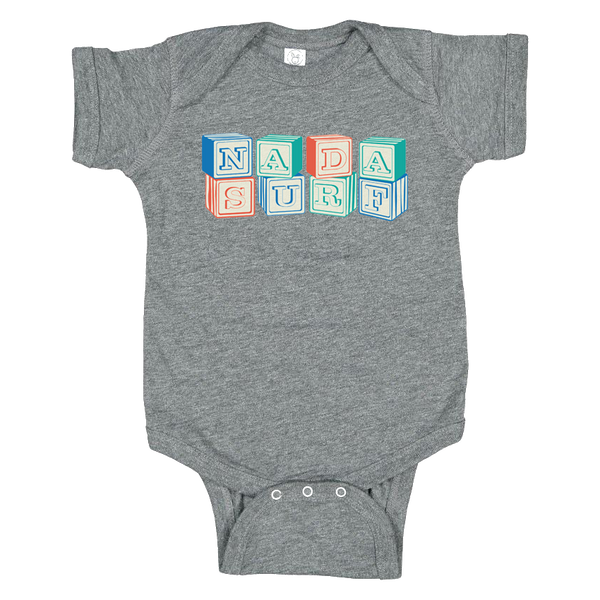Blocks Baby Onesie