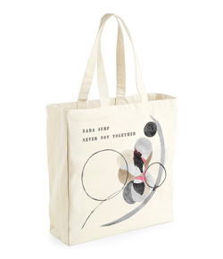 Nada Surf Never Not Together Totebag Totebag- Bingo Merch Official Merchandise Shop Official