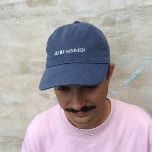 Efterklang Altid Sammen Baseball Cap Navy Cap- Bingo Merch Official Merchandise Shop Official