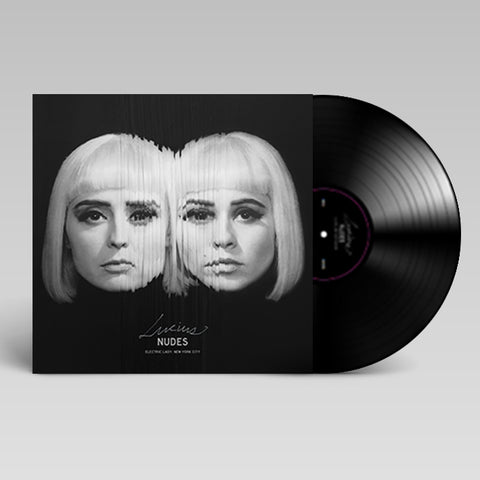 Nudes LP with optical illusion insert