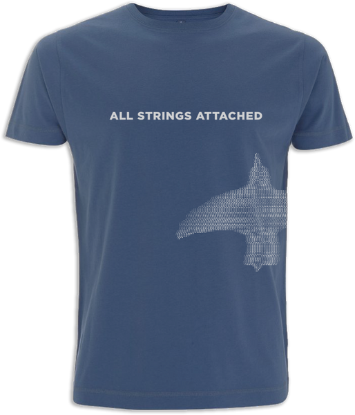 Ólafur Arnalds All Strings Attached Denim T-shirt T-shirt- Bingo Merch Official Merchandise Shop Official