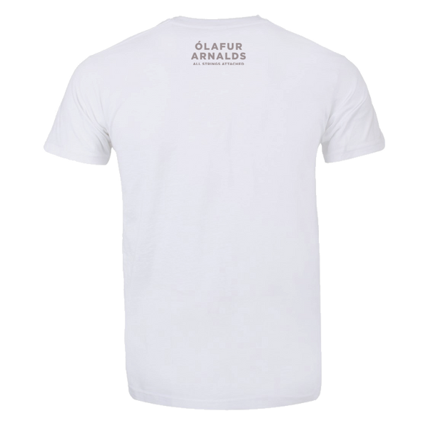 Ólafur Arnalds All Strings Attached White T-shirt T-shirt- Bingo Merch Official Merchandise Shop Official