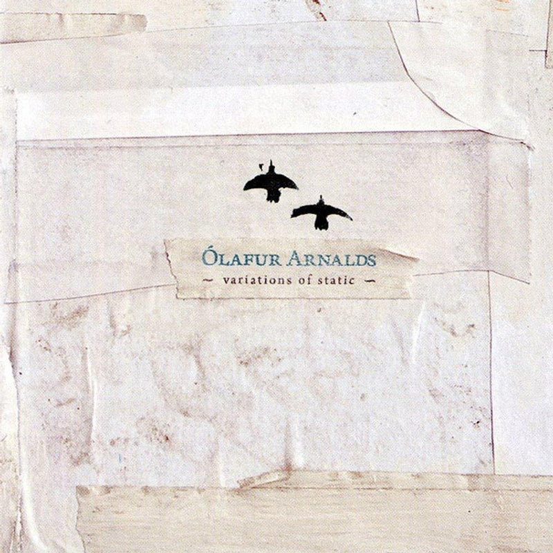 "Ólafur Arnalds Variations of Static 10"" 10""- Bingo Merch Official Merchandise Shop Official"