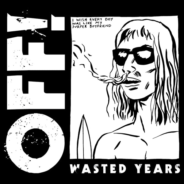 OFF! Wasted Years LP LP- Bingo Merch Official Merchandise Shop Official