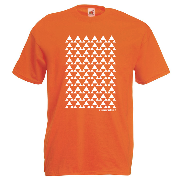Efterklang Rumraket Orange T-Shirt- Bingo Merch Official Merchandise Shop Official