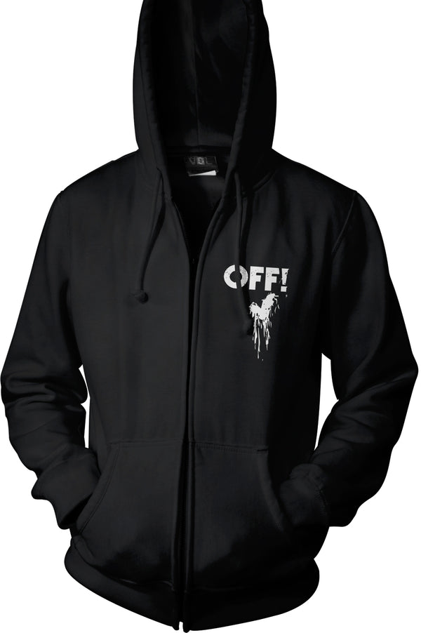 OFF! Logo Zip Hoodie Hoodie- Bingo Merch Official Merchandise Shop Official