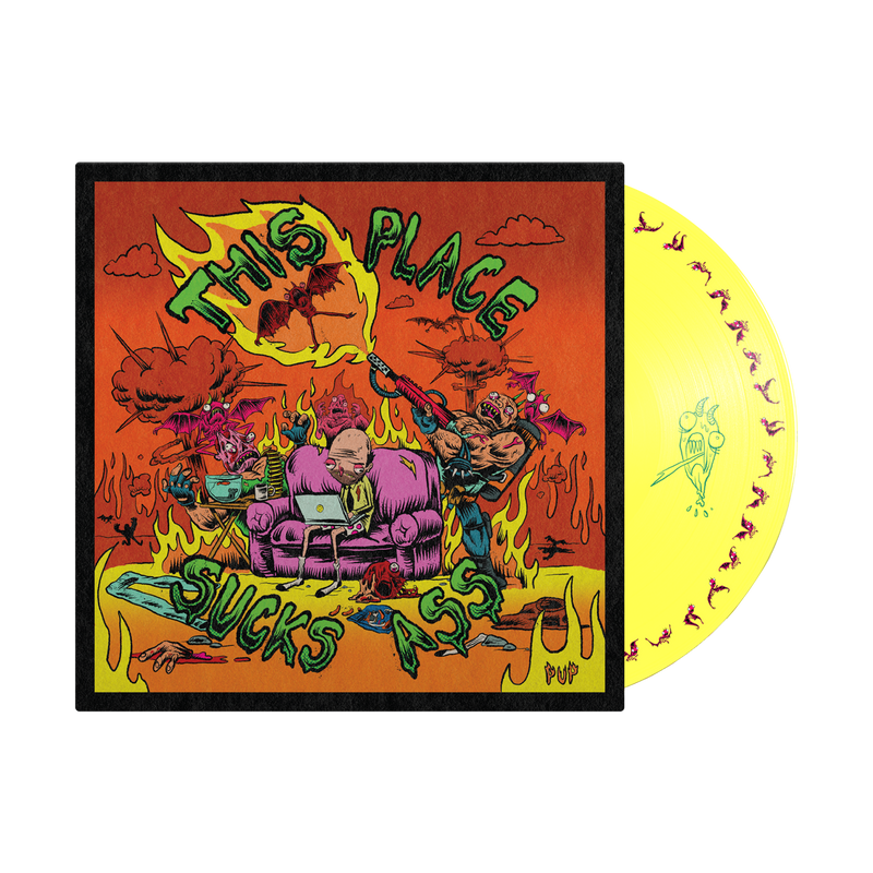 (PRE-ORDER) This Place Sucks Ass Picture Disc LP