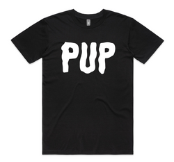 PUP Logo Black T-Shirt- Bingo Merch Official Merchandise Shop Official