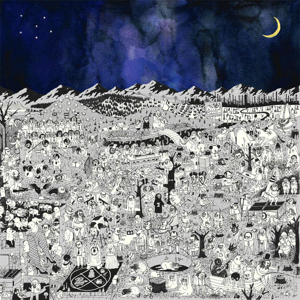Father John Misty Pure Comedy Deluxe 2xLP - signed LP- Bingo Merch Official Merchandise Shop Official