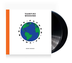Vampire Weekend Father of the Bride Vinyl Double LP (Standard Black) LP- Bingo Merch Official Merchandise Shop Official