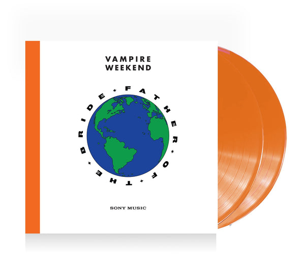 Vampire Weekend Father of the Bride Vinyl Double LP (Limited Edition Orange) LP- Bingo Merch Official Merchandise Shop Official