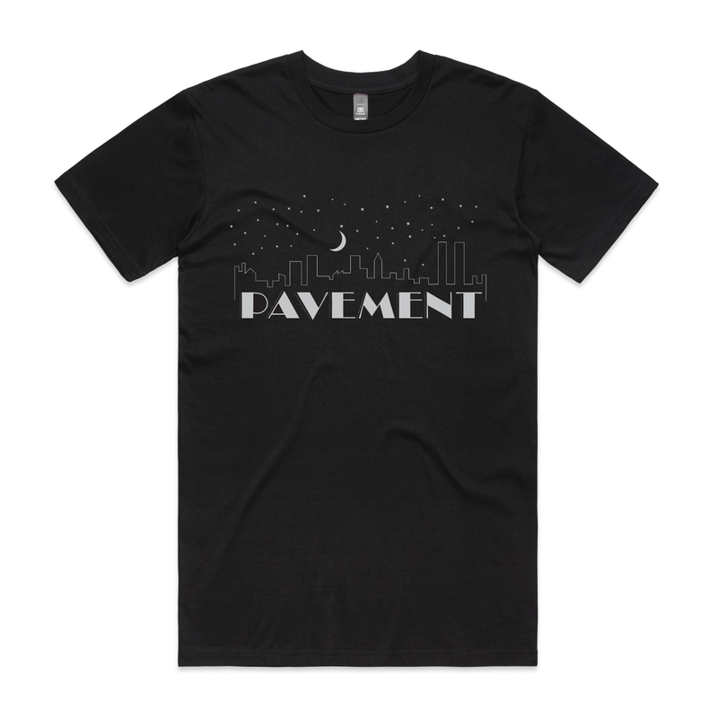 Pavement Night Falls T-Shirt- Bingo Merch Official Merchandise Shop Official