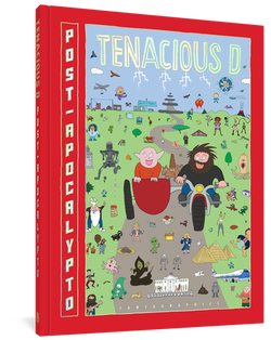 Tenacious D (PRE-ORDER) Post-Apocalypto: The Graphic Novel Book- Bingo Merch Official Merchandise Shop Official