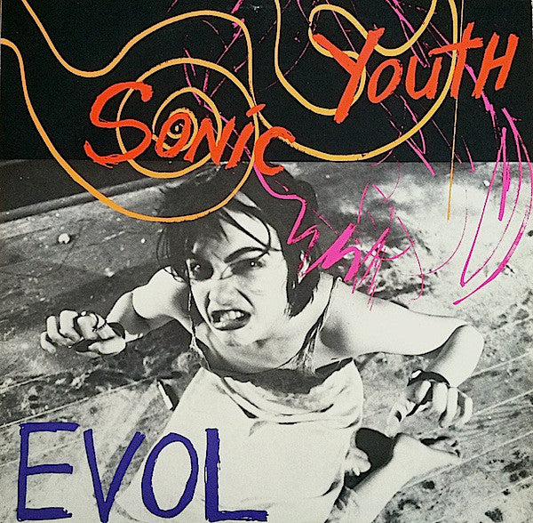 Sonic Youth Evol LP LP- Bingo Merch Official Merchandise Shop Official