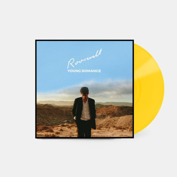 (SIGNED) Young Romance LP (Limited yellow vinyl)