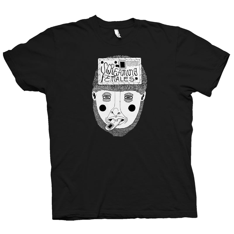Screaming Females Stamp Shirts- Bingo Merch Official Merchandise Shop Official